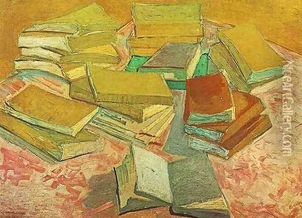 French Novels Oil Painting - Vincent Van Gogh