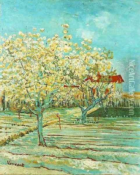 Orchard In Blossom II Oil Painting - Vincent Van Gogh
