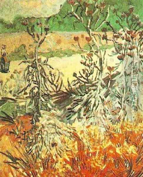 Thistles Oil Painting - Vincent Van Gogh