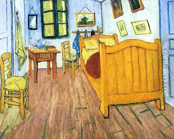 Vincent's Bedroom in Arles Oil Painting - Vincent Van Gogh
