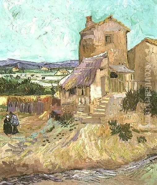 The Old Mill Oil Painting - Vincent Van Gogh