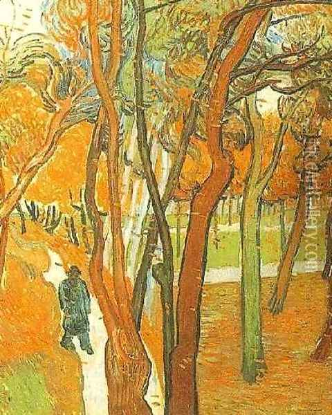 The Falling Leaves Oil Painting - Vincent Van Gogh