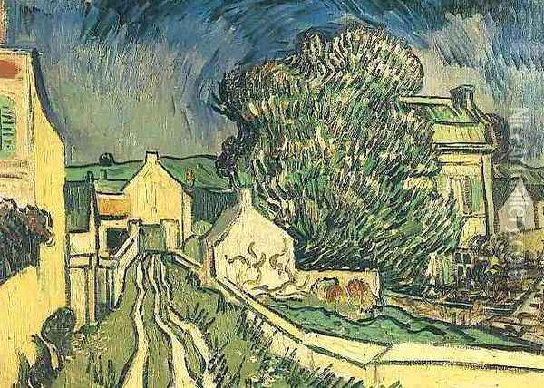The House Of Pere Pilon Oil Painting - Vincent Van Gogh