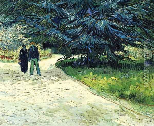 The Poet's Garden Oil Painting - Vincent Van Gogh