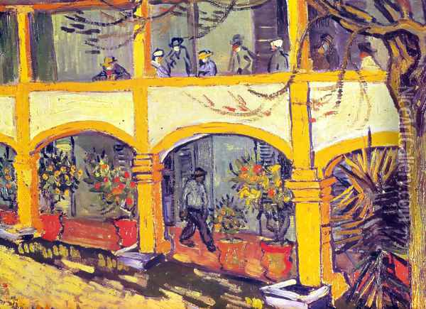Arles hospital 1 Oil Painting - Vincent Van Gogh