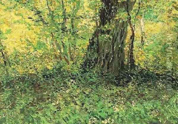 Undergrowth II Oil Painting - Vincent Van Gogh