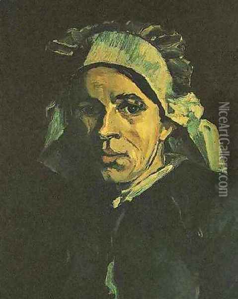 Head Of A Woman IV Oil Painting - Vincent Van Gogh