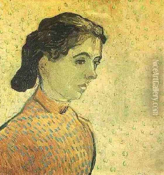 The Little Arlesienne Oil Painting - Vincent Van Gogh