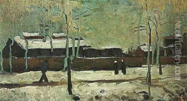 The Old Station At Eindhoven Oil Painting - Vincent Van Gogh