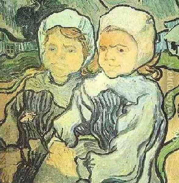 Two Children II Oil Painting - Vincent Van Gogh