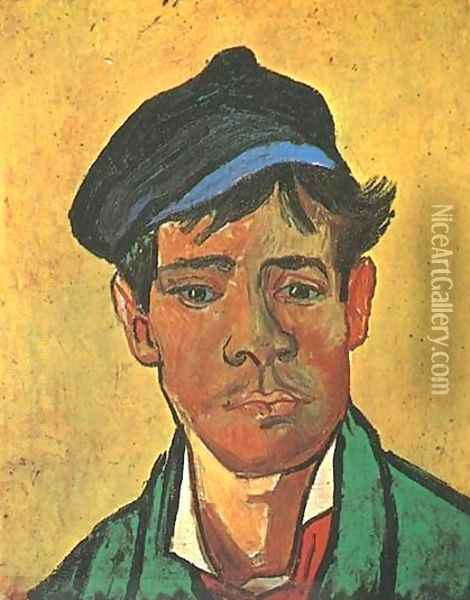 Young Man With A Cap Oil Painting - Vincent Van Gogh