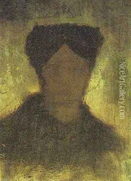 Head Of A Woman II Oil Painting - Vincent Van Gogh