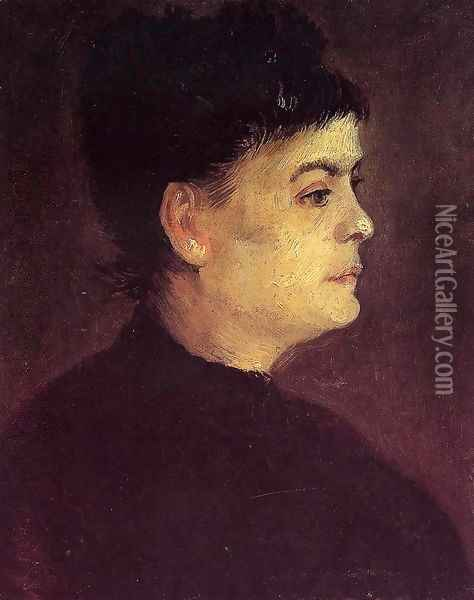 Portrait of a Woman Oil Painting - Vincent Van Gogh