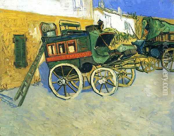 The Tarascon Diligence Oil Painting - Vincent Van Gogh