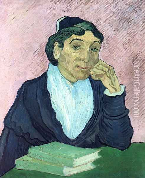 L'Arlesienne, Portrait of Madame Ginoux II Oil Painting - Vincent Van Gogh