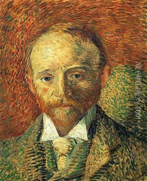 Portrait of Alexander Reid Oil Painting - Vincent Van Gogh