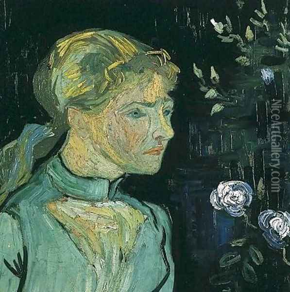 Portrait Of Adeline Ravoux Oil Painting - Vincent Van Gogh