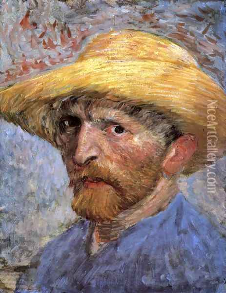 Self Portrait IV 2 Oil Painting - Vincent Van Gogh