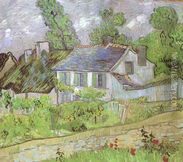 House in Auvers 2 Oil Painting - Vincent Van Gogh