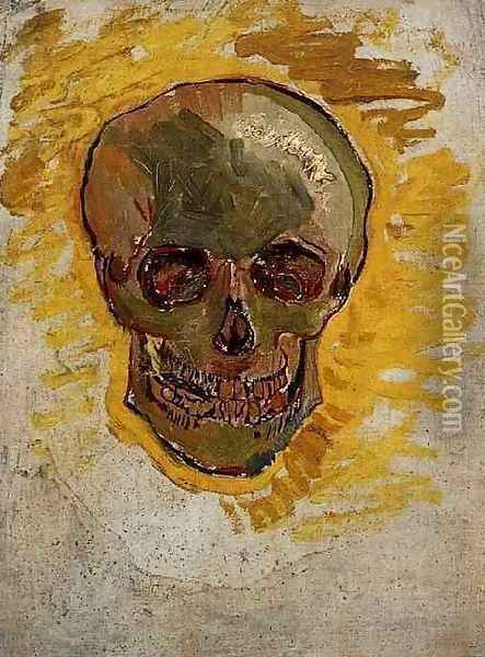 Skull 2 Oil Painting - Vincent Van Gogh