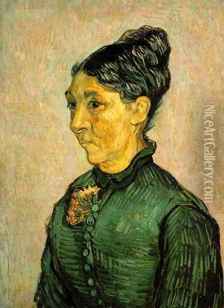 mme-trabuc Oil Painting - Vincent Van Gogh