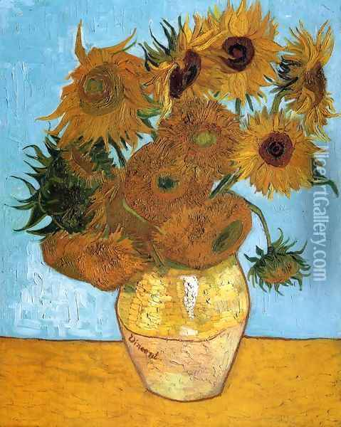 Sunflowers I Oil Painting - Vincent Van Gogh