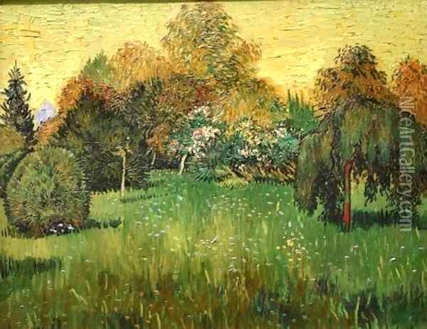 The Poets Garden Oil Painting - Vincent Van Gogh
