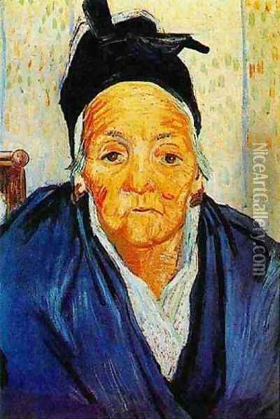 Old Woman Of Arles 1888 Oil Painting - Vincent Van Gogh