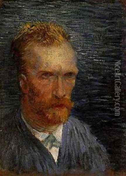 Self Portrait 1887 Oil Painting - Vincent Van Gogh
