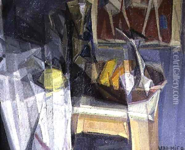 Still Life 2 Oil Painting - Georges Valmier