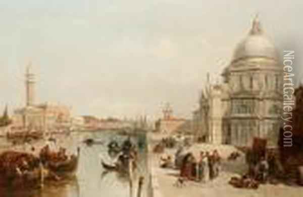 The Entrance To The Grand Canal From The
