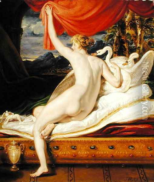 Venus Rising from her Couch, 1823 Oil Painting - James Ward
