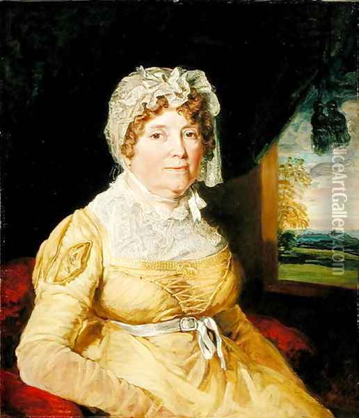 An Unknown Woman, 1811 Oil Painting - James Ward