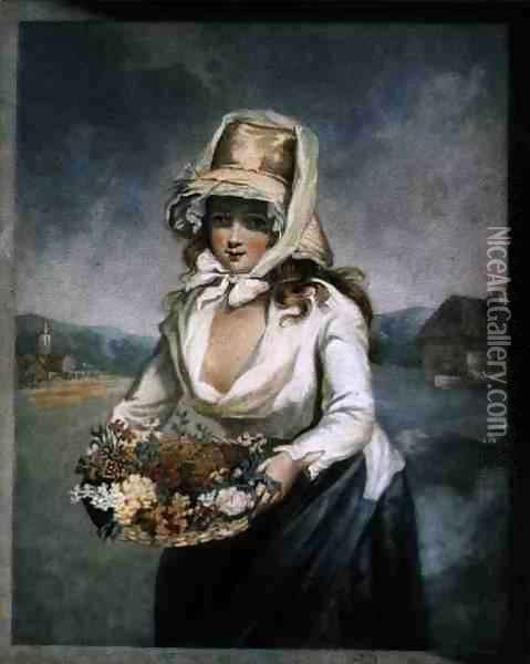 Summer, engraved by the artist, pub. c.1805 Oil Painting - James Ward