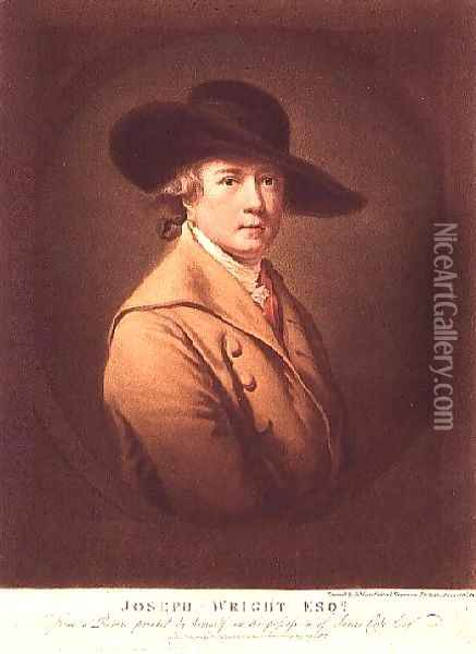 Joseph Wright of Derby by James Ward (1769-1859), 1807 Oil Painting - James Ward