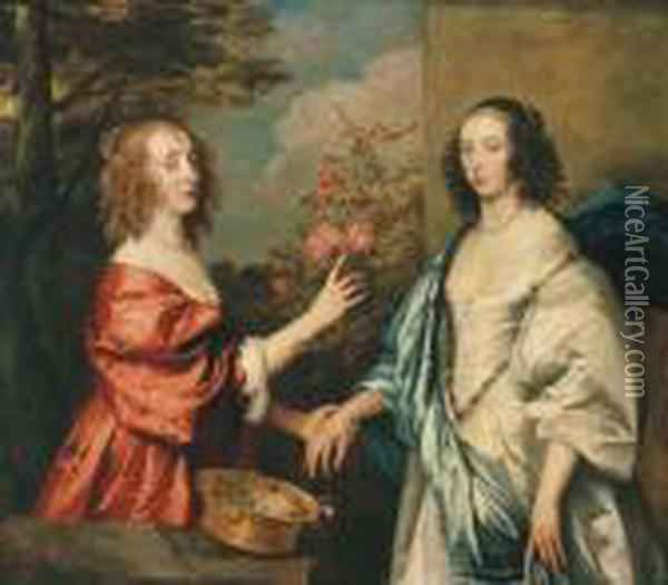 Double Portrait Of The Countess 