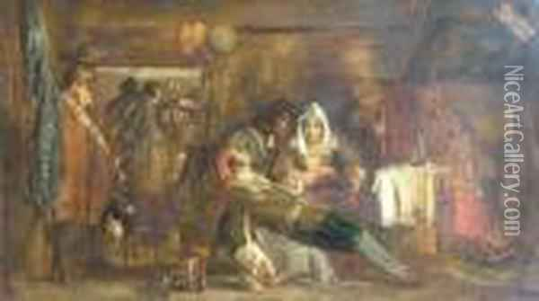 The Covenanters Oil Painting - Sir David Wilkie