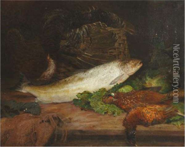 Bodegon Oil Painting - Sophie Gengembre Anderson