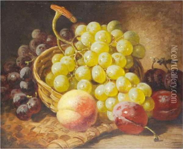 Bodegon Oil Painting - Charles Thomas Bale