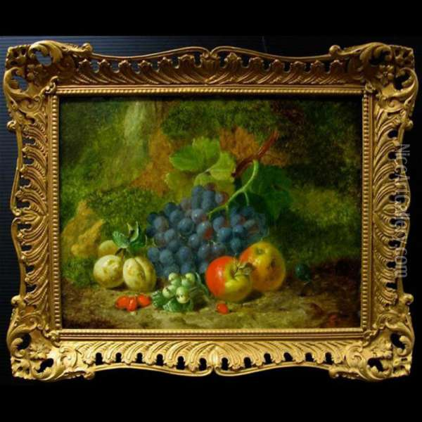 Still Life - Fruit Oil Painting - Charles Thomas Bale
