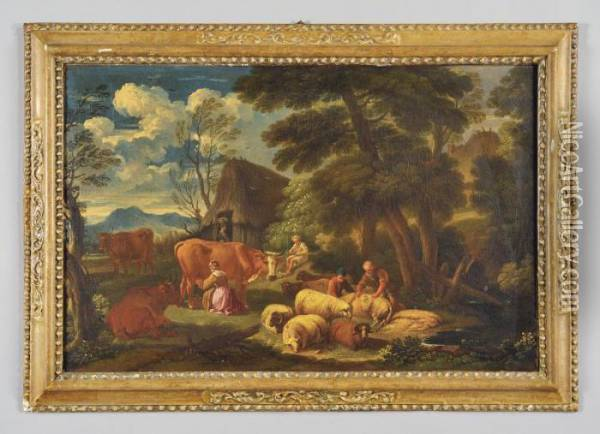 Paesaggio Oil Painting - Pieter the Younger Mulier