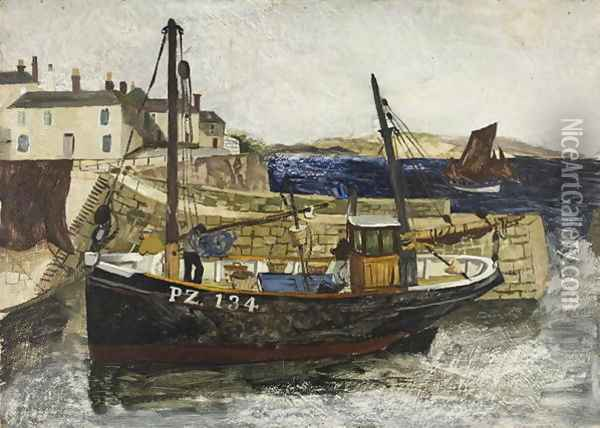 1930 Oil Painting - Christopher Wood