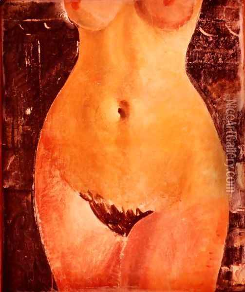 Nude Oil Painting - Christopher Wood