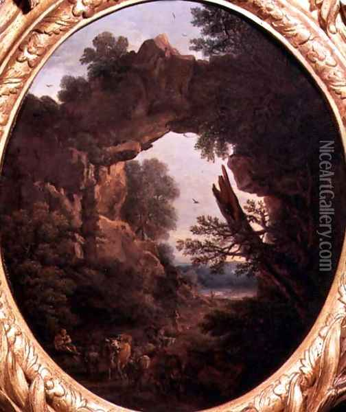 Classical Landscape Oil Painting - John Wootton