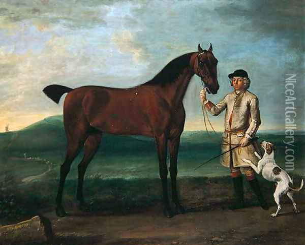 Bay Bolton, c.1743-6 Oil Painting - John Wootton