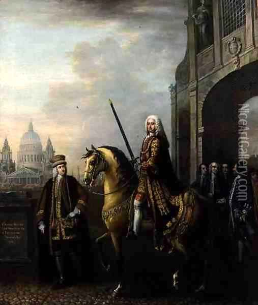 Sir Richard Hoare (1709-54), 1746 Oil Painting - John Wootton