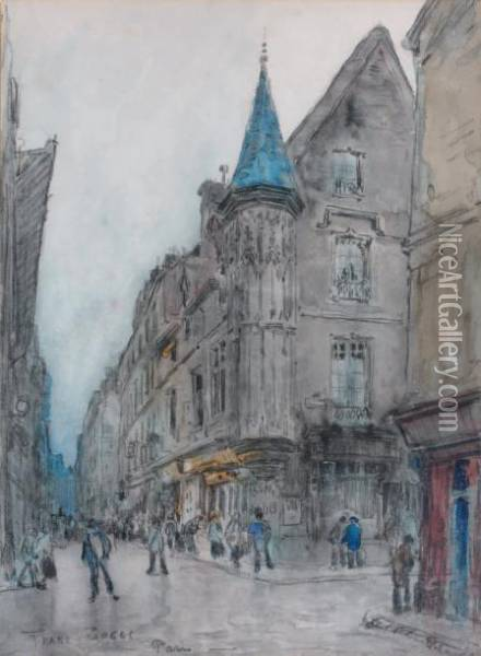 Paris, L'h Oil Painting - Frank Myers Boggs