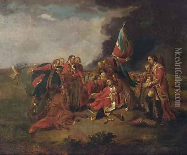 The death of General Wolfe Oil Painting - Benjamin West