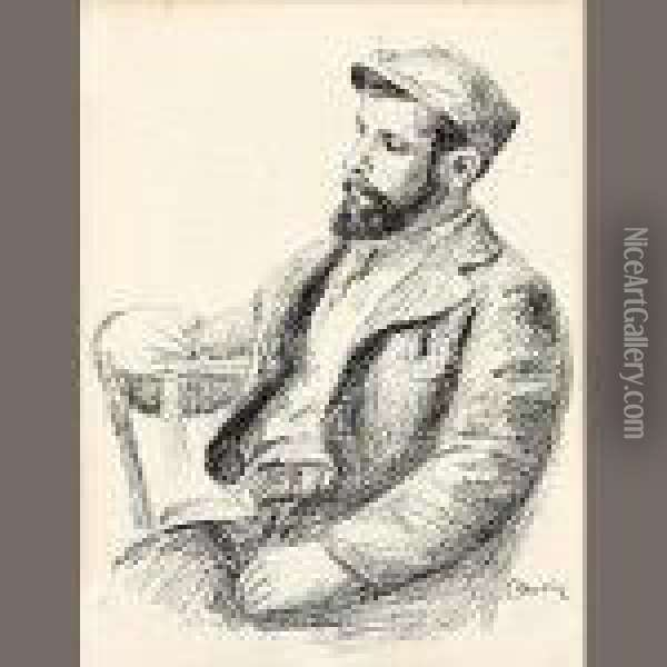 Louis Valtat, From L'album Des Douze Lithographies Originales Oil Painting - Pierre Auguste Renoir