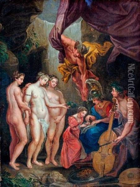 Medici Maria Neveltetese Oil Painting - Peter Paul Rubens
